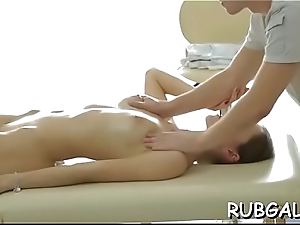 Body rub rub down