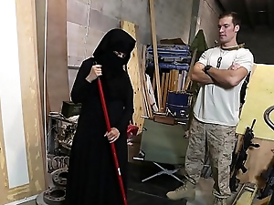 Rout OF Swag - US Soldier Takes A Liking To Sexy Arab Servant