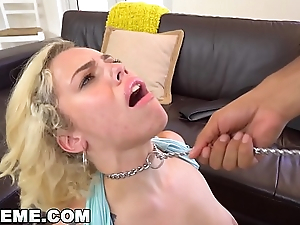 ABUSEME - Teen Kimberly Moss Treated Much the same as The Well-disposed Coach Bitch She Is