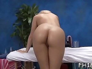 Gal widens legs wide and starts poking dildo in her cunt