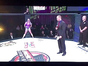 Lingere Fighting Championship Tasia Lockran vs Agatha Haulier