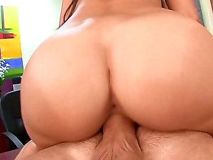 Doggy mood gender aliment slut Miley Ann with huge tits gets a big jizz load