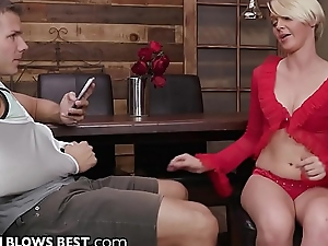 MILF Cougar Marie McCray is Starving be worthwhile for Stepsons Hide Dick