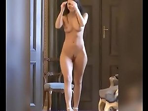 Hawt russian with perfect diet teasing