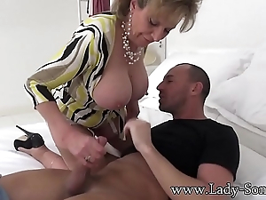 Spanish Fly In Nipper Sonia'_s Tea Gets Her Horny As Fuck