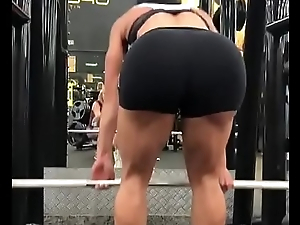 Eva Andressa en el gym