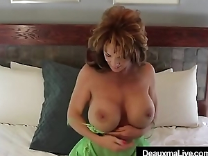 Super Sexy Mommy Deauxma Dildo Bangs Her Cum-hole &amp_ Cums!