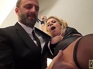 Cum abrading UK skank anally destroyed by rough carnal knowledge