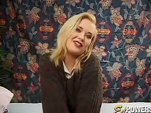 Vintage chick drilled hard and fast by oneself painless she likes it