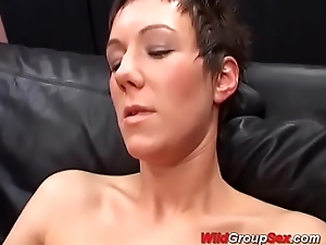 cute german adolescence first anal bukkake bandeau