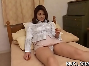 Youthful non-professional oriental doll gets cock in rough modes on web camera