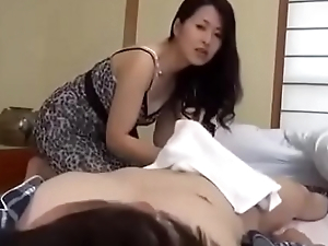 Busty stepmom take usage of will not hear of son - xfoxxx .com