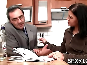 Pet is getting hardcore doggystyle drilling from teacher
