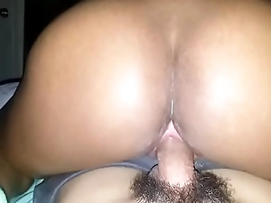 Black Girl Rides Big Papi Cock
