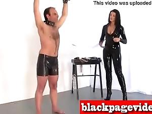 BDSM Brutal Whipping