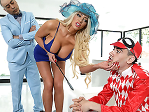 ZZ Kenfucky Derby Featuring Nicolette Shea with an increment of Jordi El Niño Polla - Real Spliced Stories HD