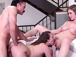 Lena Paul  plus Lily Love plea the doctor - Porn XXX