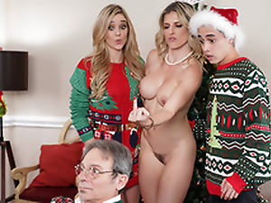 Avoid A catch Xmas Lights Tied On high - Mom Cory Chase In the porn instalment