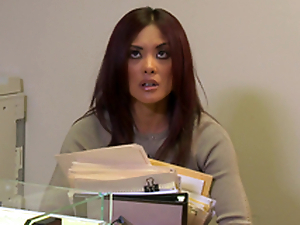 Kaylani Lei Blows this Fellow coupled with Bonks in the Office!