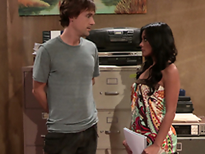 Kaylani Lei at get under one's Office Screwing just about get under one's Copy Room!