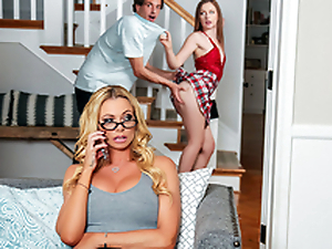 Sexual intercourse Therapy With Stepmom Featuring Brianna Banks coupled with Danni Rivers - Fact Kings HD