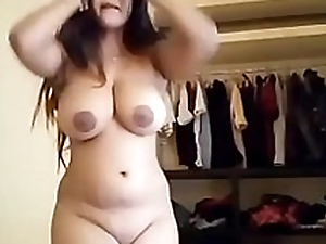 Big Milky Boobs Desi Girlfriend Strips Removing Bra and Penty Be advisable for Day