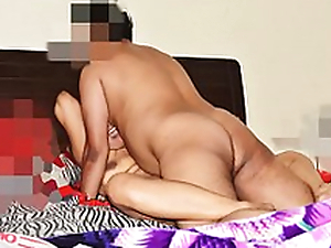 Loud Moaning Desi Wife Pranya getting Fucked Hard in Threesome apart from Hubby's Affiliate
