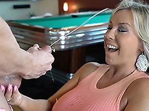 Hawt Wife Sucks Missing A Lodger Weasel words Gets Cum Splashed