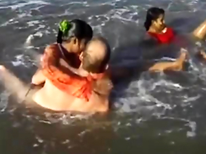 indian sex orgy on the top of the beach