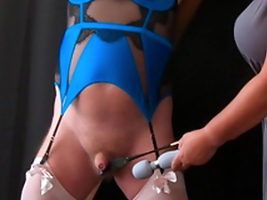 Pleasure Pain - Femdom Mistress CBT Opportunity just about Sissy Underling