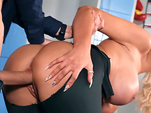 Tommie Jo gets pounded doggystyle by Danny D