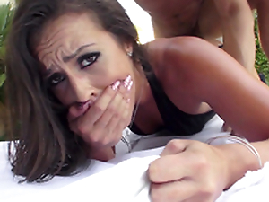 Kelsi Monroe receives maximum pleasure when XXX connect with fucks both holes