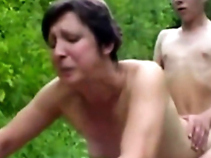 Forest XXX Sex Fuckers 1 - Old Comprehensive & Young Boy - Sex Scene