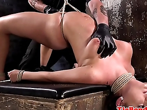 Be in charge bondage submissive gets flogged