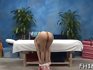 Chick performs unfathomable face hole blow onwards getting booty drilled
