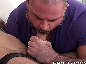 Sky pilot join loop stepson wanking increased by gives him a hand