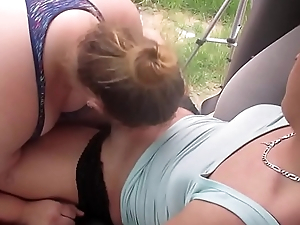 Young Baby Teen Sneaks A Sexy Baby A Oral stimulation Widely Of Buggy In Public Then Swallow Huge Load Of Cum