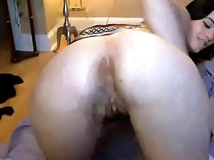 Dirty Slut Fingers Asshole