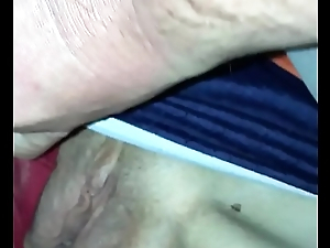 Fingering Sleeping Wife&rsquo_s Bawdy cleft