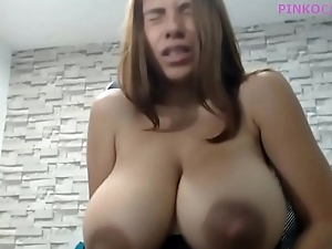 Delicious Latin chick Preggy Lactating Big Boobs
