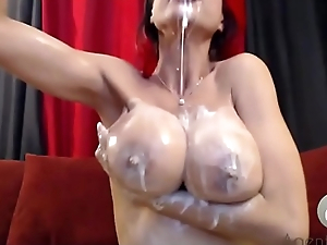 Abysm Throat Whipped Cream Gagging Blowjob